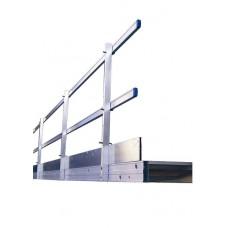 Solide kantplank - werkbrug