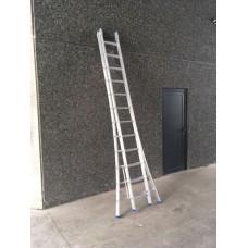 Solide uitschuifbare ladder 2 X 12
