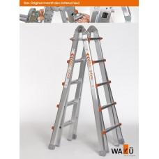 Wakü telescopische ladder