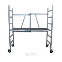 Solide Vouwsteiger Compact | 0.75m x 1.75m